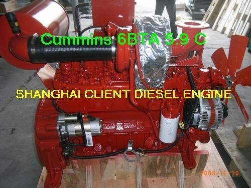 Cummins Diesel Engine for Construction (Cummins 6BTA5.9 C)