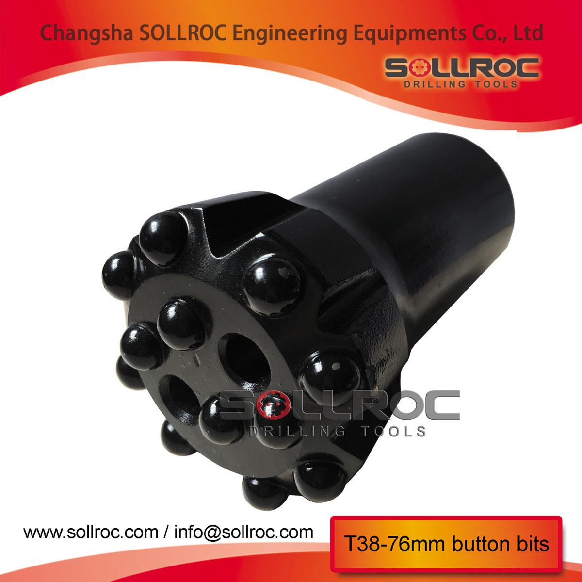 Thread Retrac Rock Drill Button Bits T38 T45 T51 Gt60 for Top Hammer Drilling