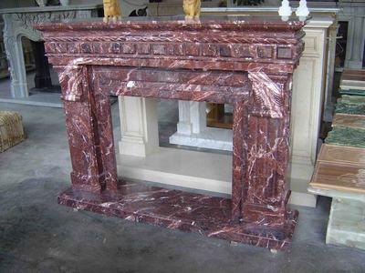 China Fireplace Rosso Antico Dttalia China Fireplace