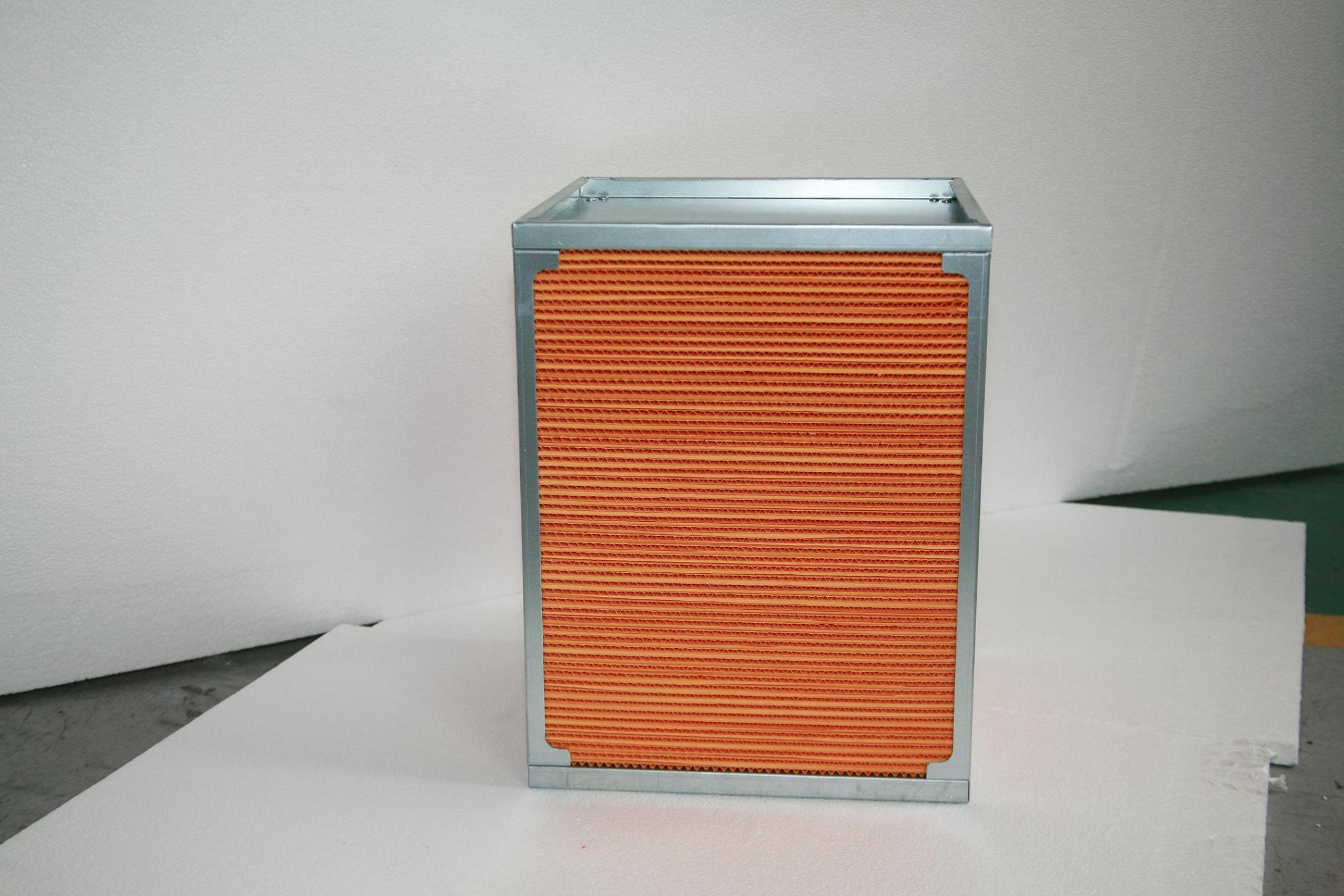 Air to Air Plate Heat Exchanger, Static Heat Recovery Ventilation System (HBT-W)