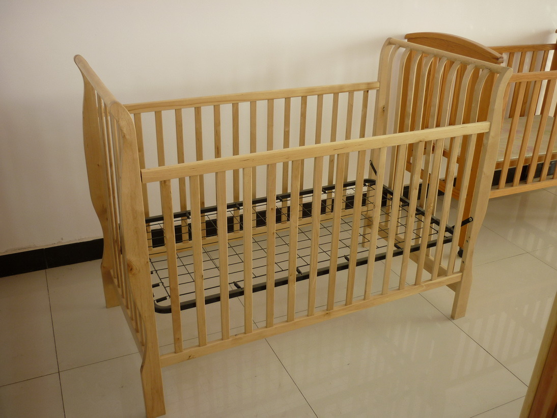 Amazing photo of China Bend Wood Baby Crib (6500) China Baby Crib Baby Cot with #6F4A1E color and 1094x821 pixels