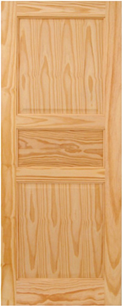 Puerta de madera de pino kd03b puerta de madera de - Maderas del pino ...