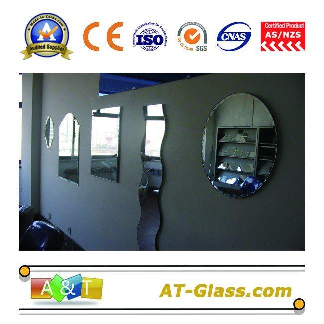 1.8~8mm Dressing/Bathroom Mirror Float Glass Silver Mirror