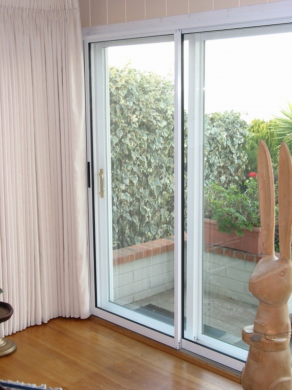 China sliding glass doors doorwin sliding door photos for Back door sliding door