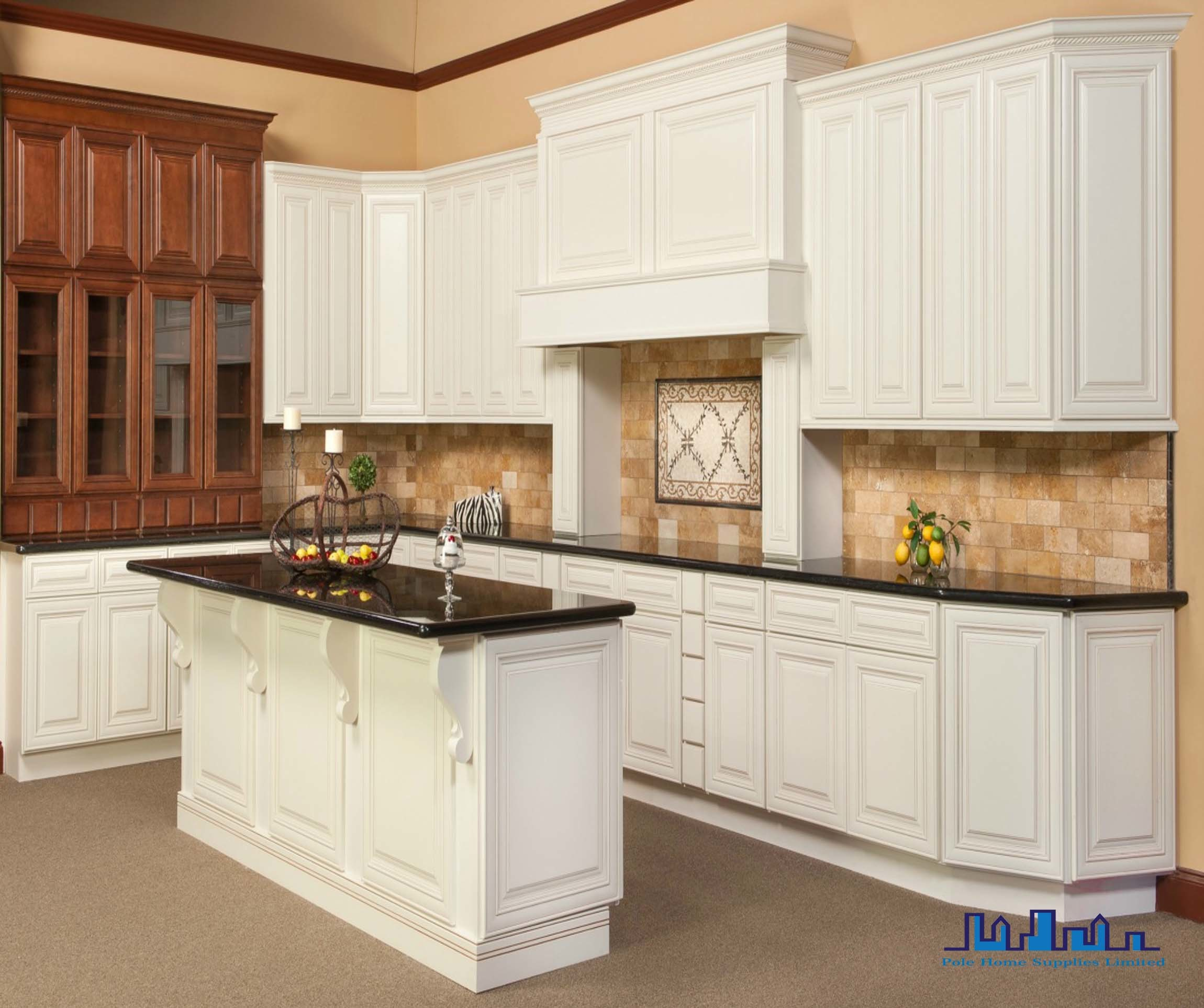 Dakota White Rta Kitchen Cabinets: China Pole 2016 Rta Antique White Solid Kitchen Cabinets