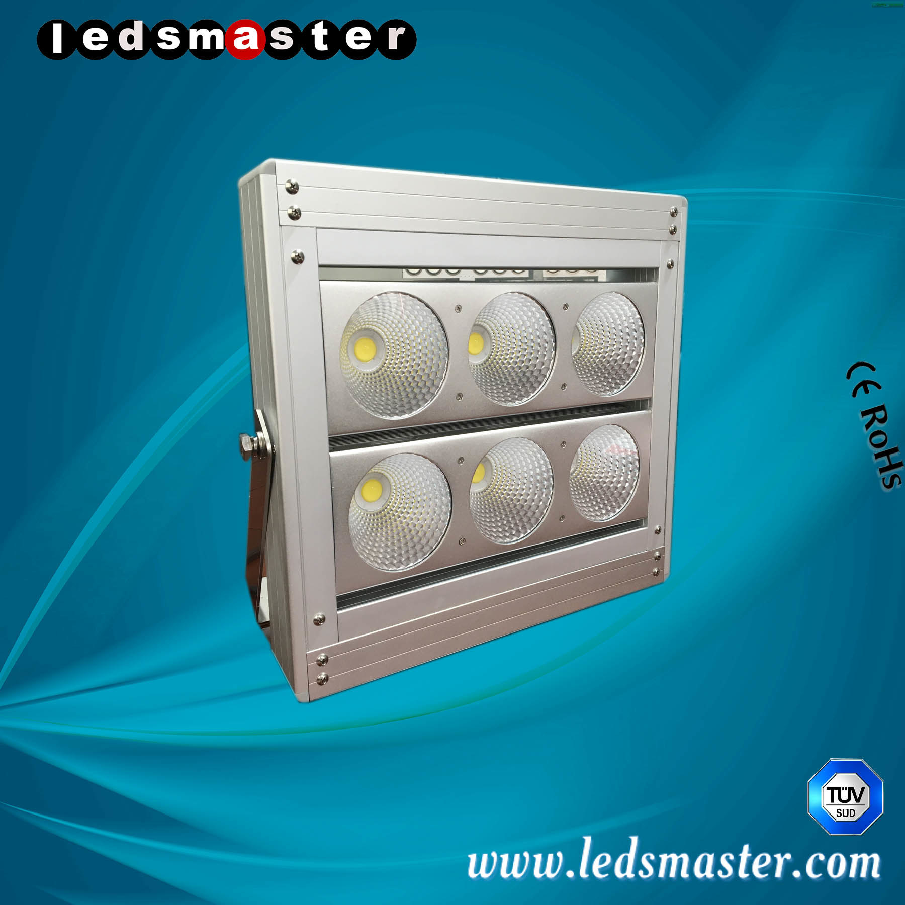 Ledsmaster Dust-Proof 300W Flood Light for Factory