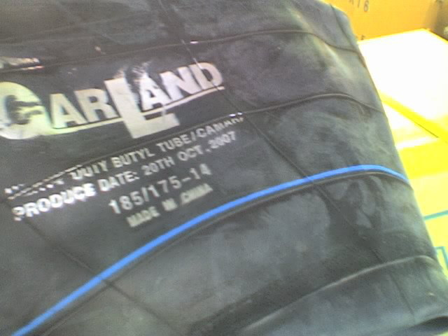 Land Lion Butyl Rubber Inner Tube with Strong Tensile