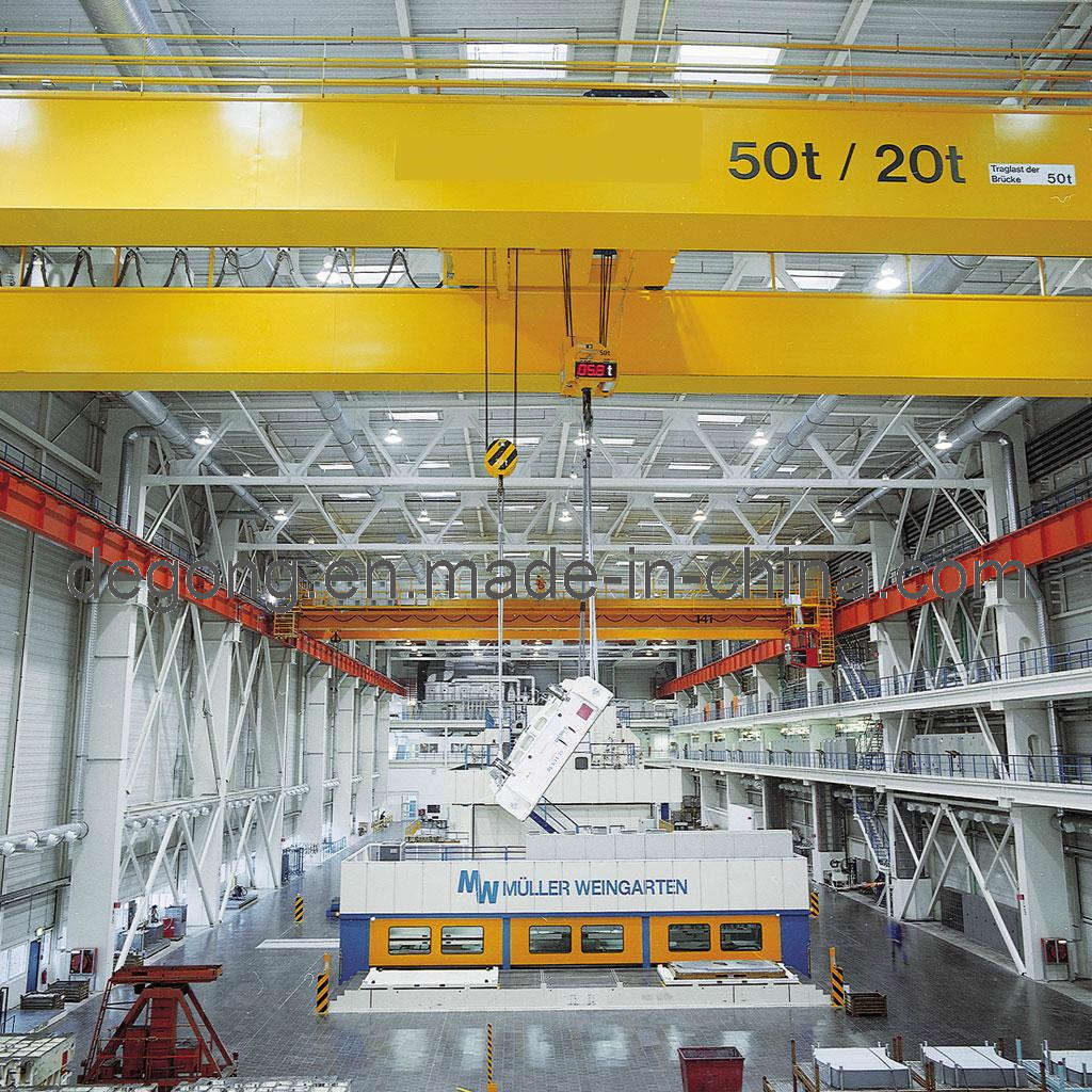 China Lh Model Double Grider Overhead Crane - China Bridge