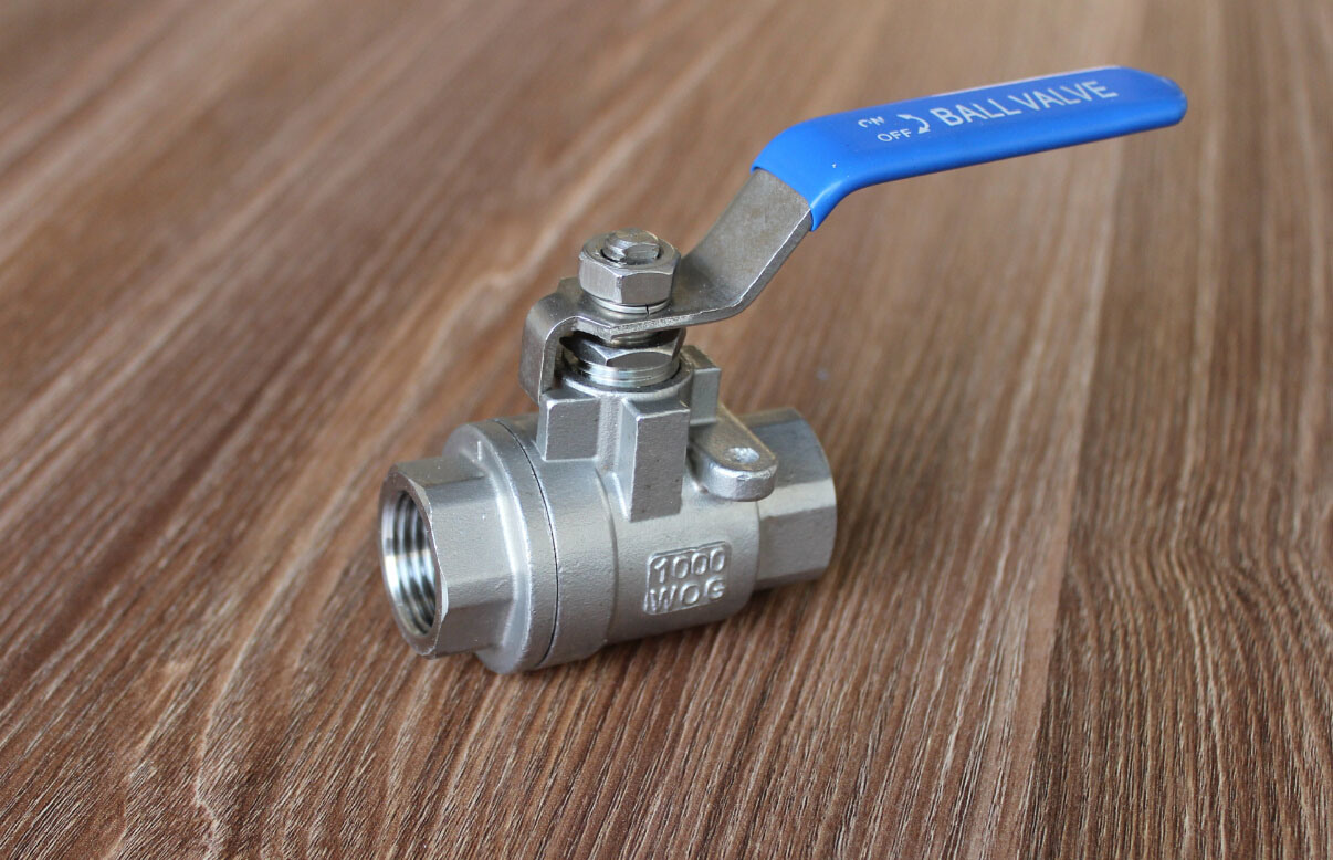 Carbon Steel 2PC Ball Valve Manufacturer