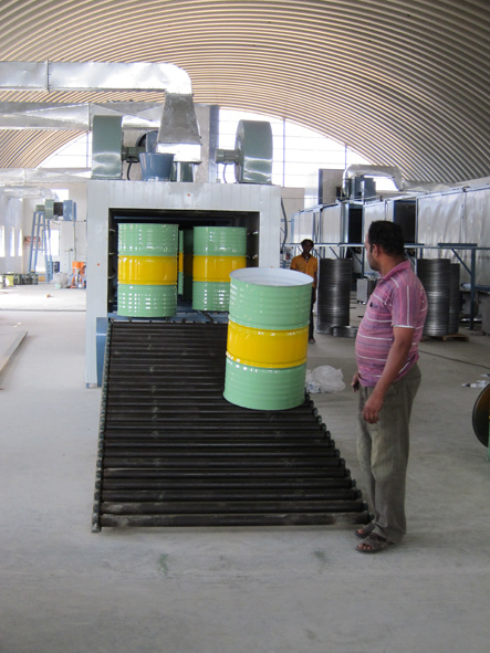 Auto Drum Making Line