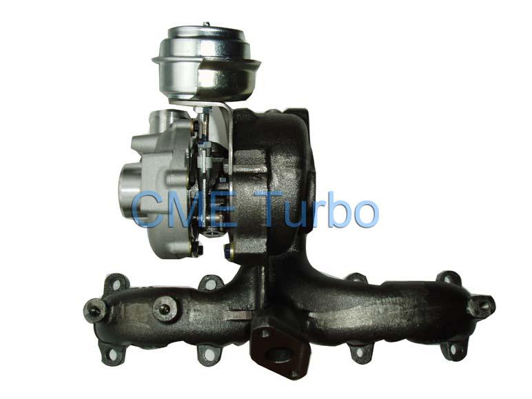Turbocharger (GT1749V) for Volks Wagen 1.9tdi