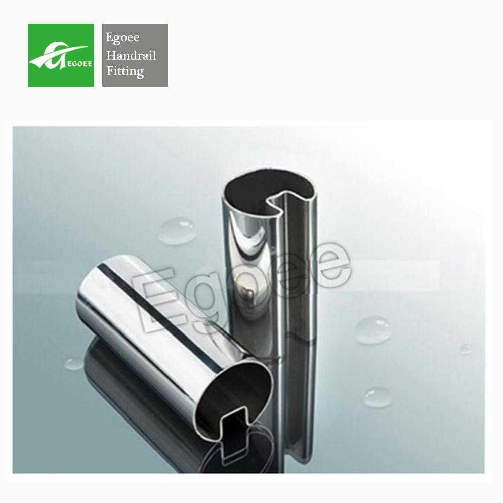 Stainless Steel Slot Tube U Channel for Framless Glass Balustrade
