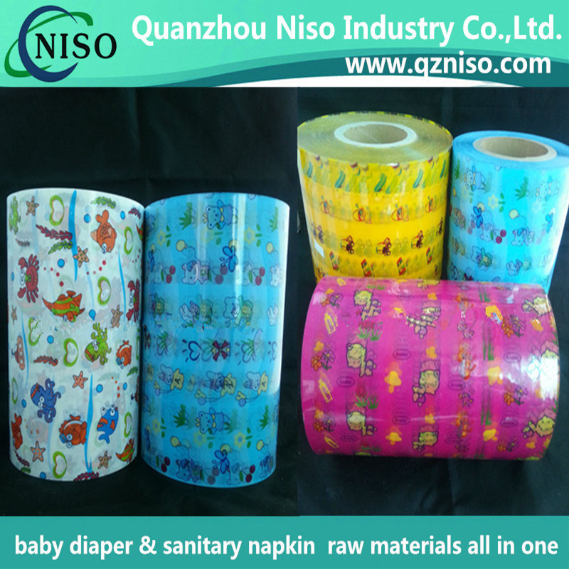 2016 New Design Factory Price Colorful PP Frontal Tape for Adult Diaper