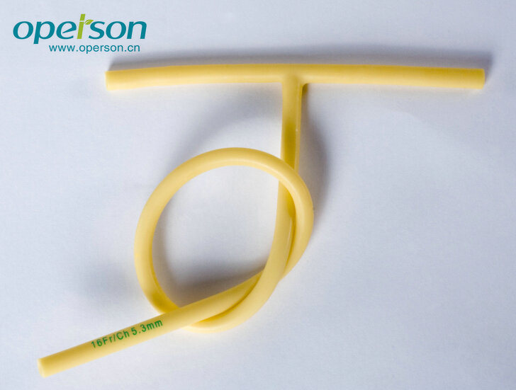 Disposable Medical T-Tube Made From Natural Latex