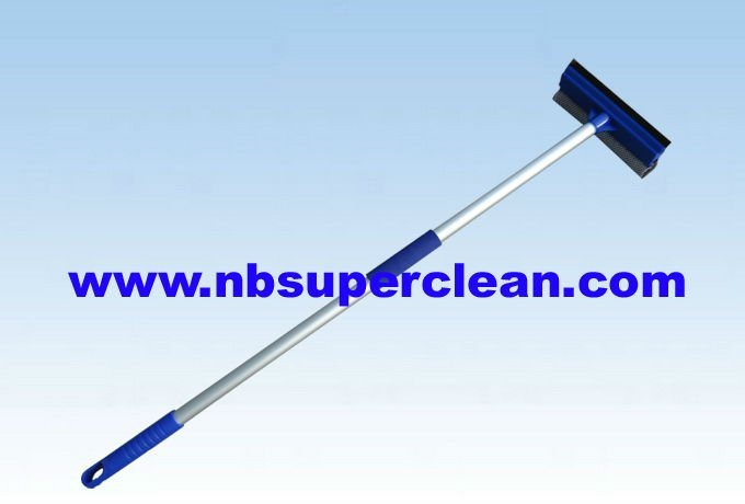 Telescopic Poles Rubber Cleaning Window Squeegee (CN1715)