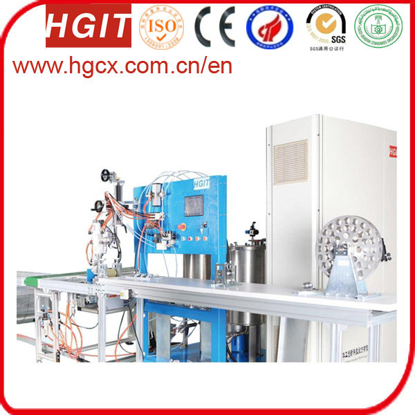 Hot Sale Strip Feeding Foaming Machine for Aluminium Profile