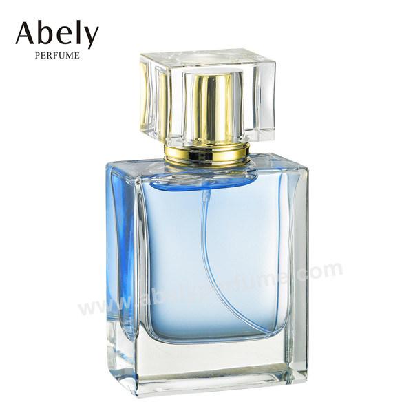 Heavy Glass Polishing Perfume Bottle with Oriental Perfume