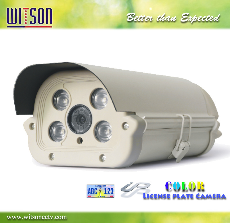 License Plate Camera 1080P HD CCTV Camera with Starlight Color Night Vision Witson (W3-CNW3120LP)