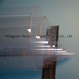 Transparent Plastic Pipe for Packaging
