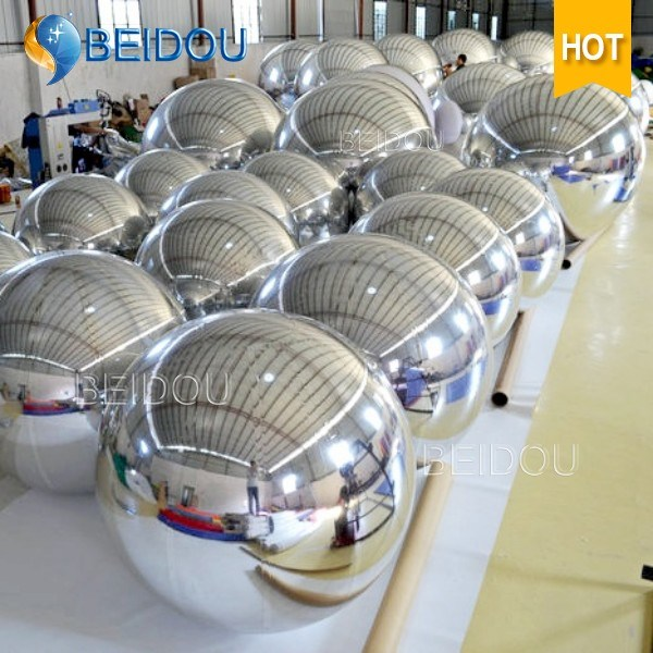Wedding Stage Decorative Mirror Balls Wholesale Mini Disco Inflatable Mirror Ball