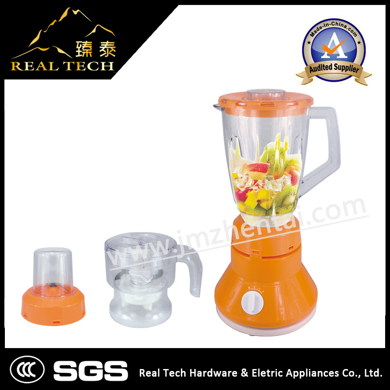 3 in 1 Blender / Powerful with Grinder Mill Commercial Blender
