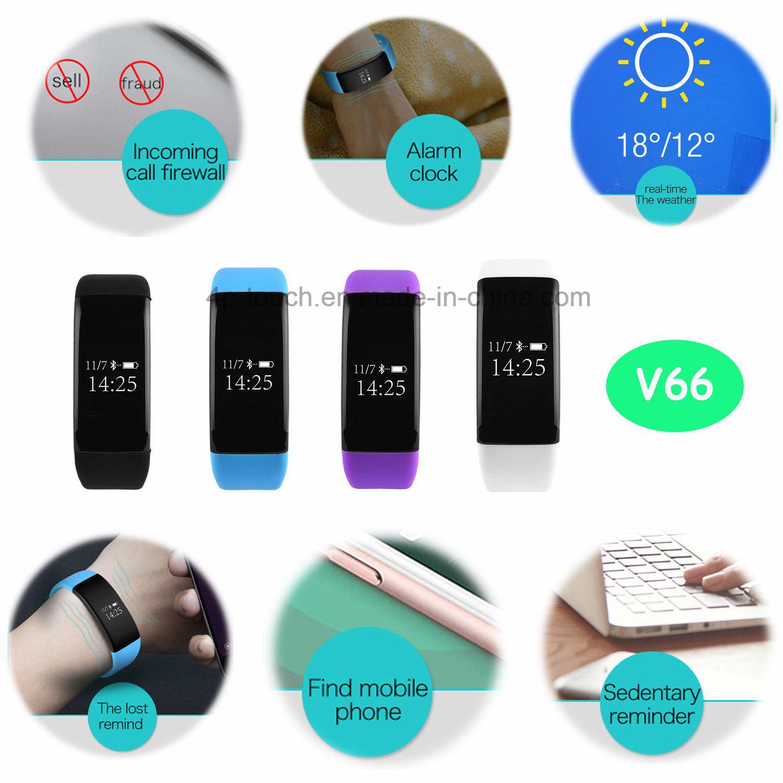 Sport Heart Rate Bluetooth Bracelet (V66)