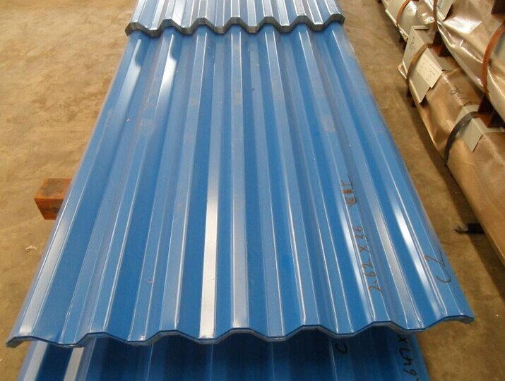 Corrugated Color Coated Roof Plate