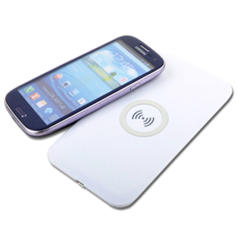Hotsale Qi Portable Wireless Charger with Micro USB Universal