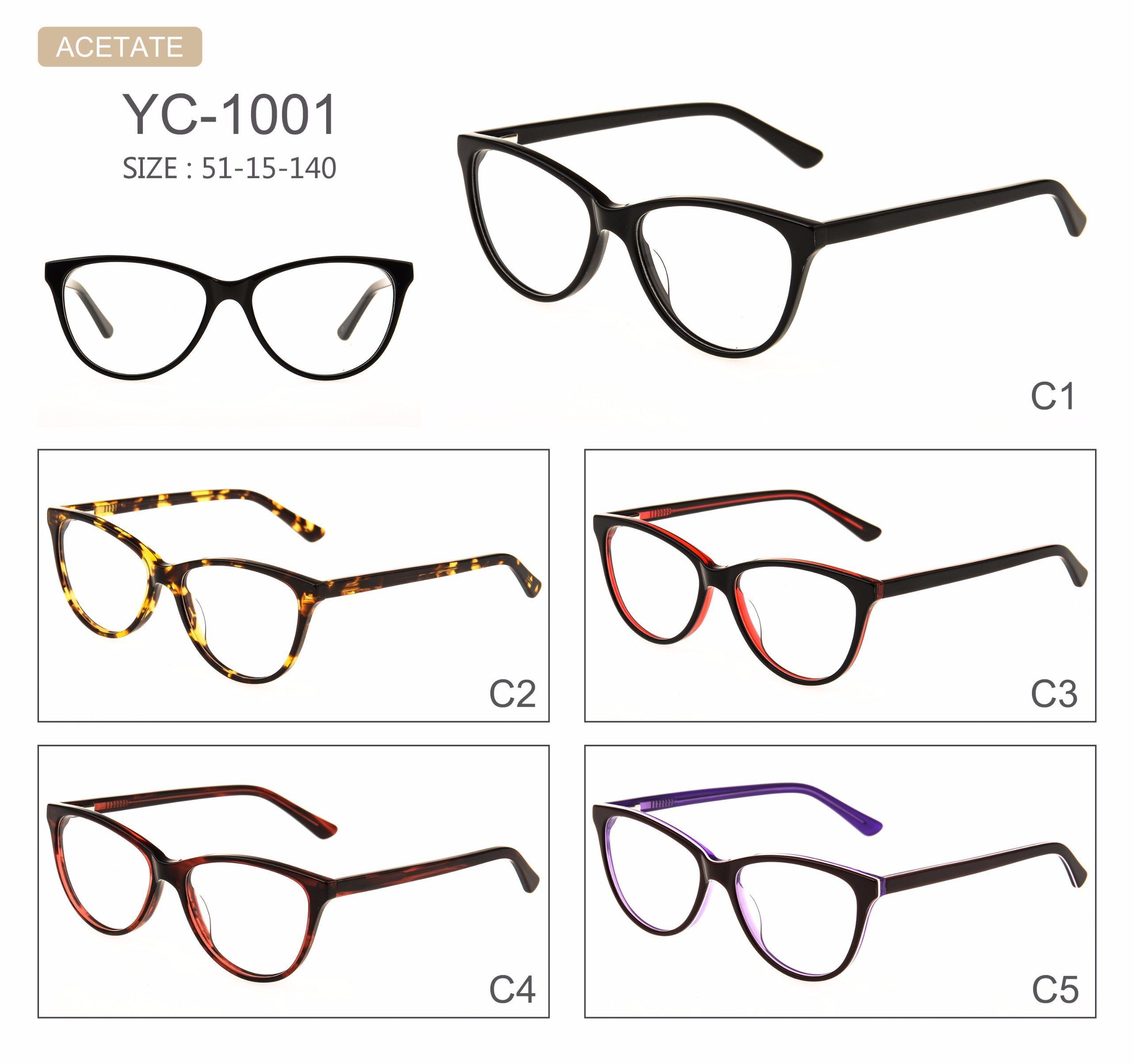 in Stock Hot Selling Popular New Design Acetate Optical Frames Eyeglasses Eyewear