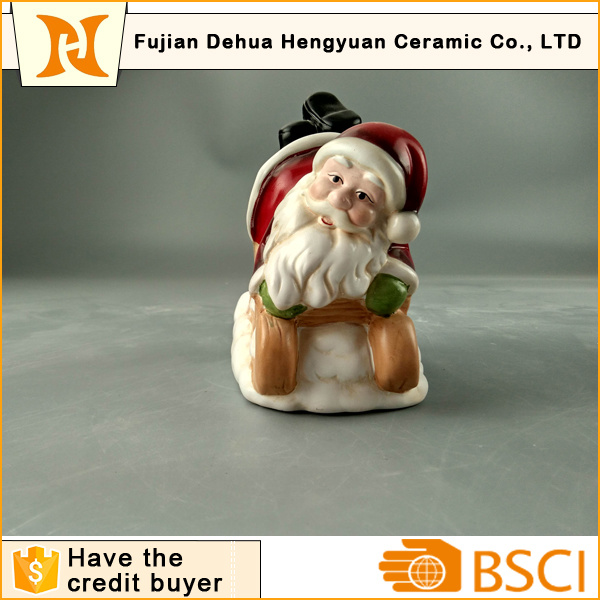 Christmas Gift of Naughty Santa Clause for Christmas Decoration