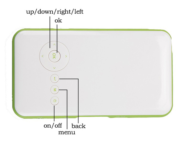 2016 New Arrival Mini LED Projector WiFi Android Smart Projector Pocket Projector