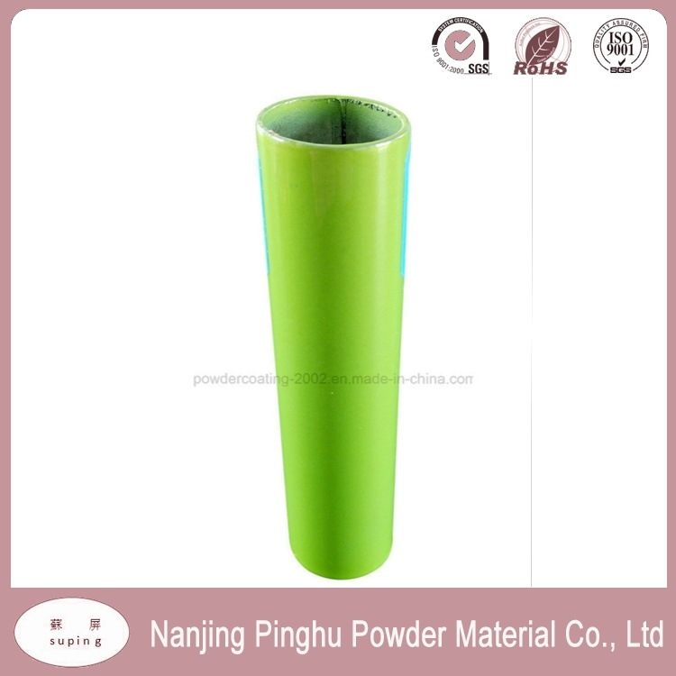 Hot Sale Apple Green Anticorrosive Powder Coating with Good Decorative Property