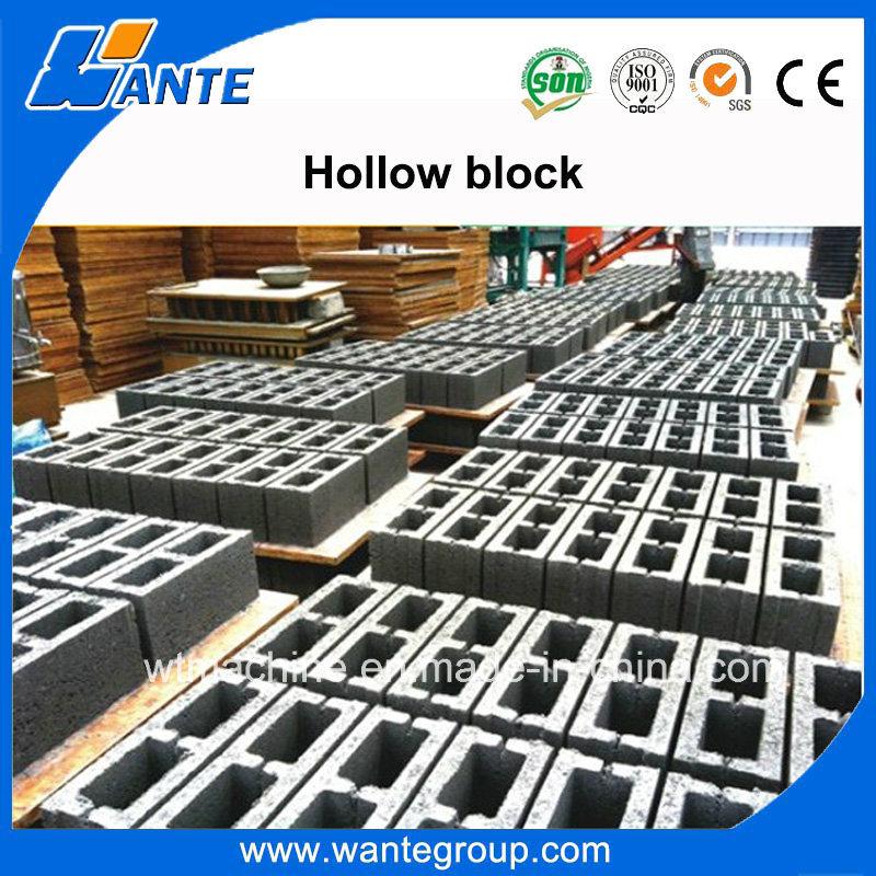 Qt10-15 Vibrated Concrete Block Making Machine for Sale, Electric Brick Making Machine