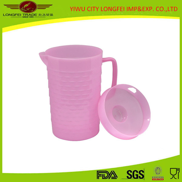 High Quality Pink Plastic Water Jug