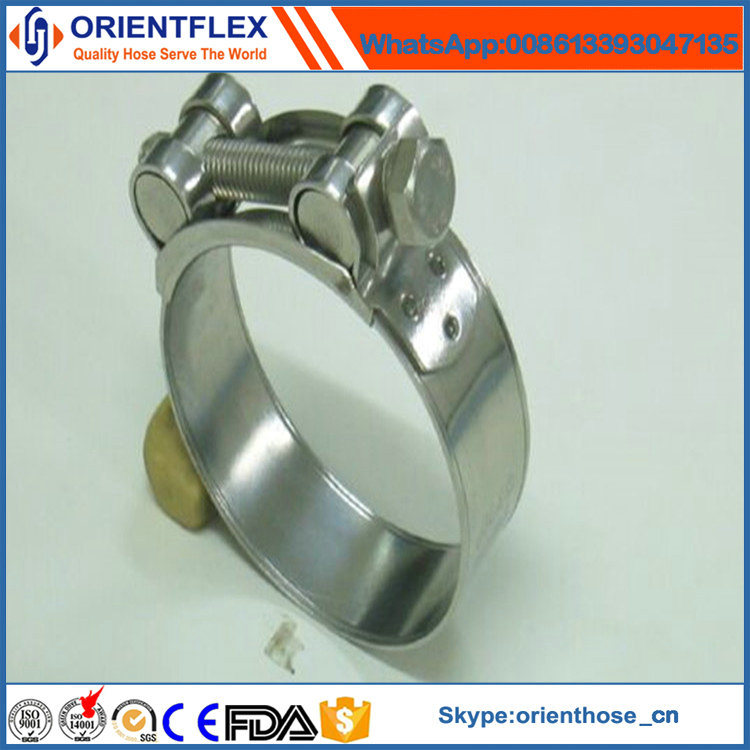 Hot Sales Ss European Hose Clamp