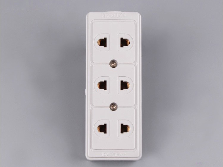 4 Way Electrical Outle Multiple Socket, The Universal Socket Outlet