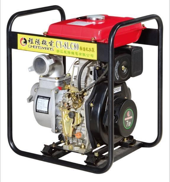 4-Stroke Diesel Engine Water Pump (CY-8LC80)