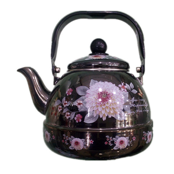 Kitchen Utensils, Enamel Teapot, Enameled Kettle, Steel Enameled Kettle