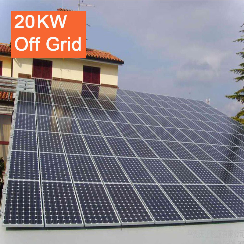 20kw off Grid Solar Energy PV Solar Power