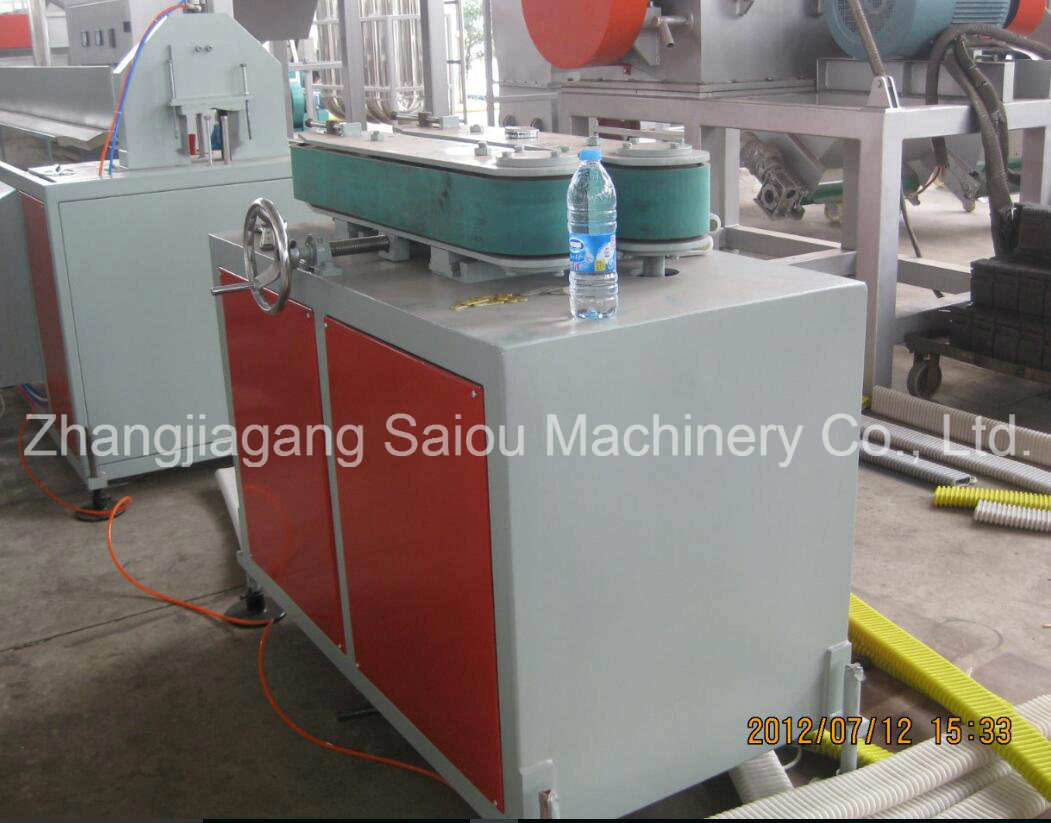 Building Concrete Prestressed Flat Pipe Extruder