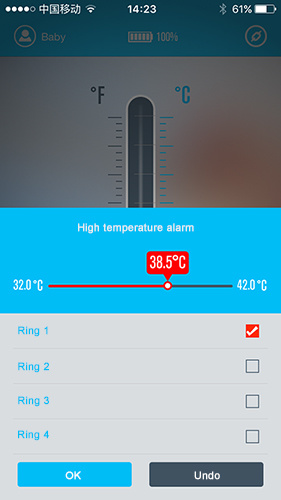Bluetooth Thermometer for Android Phone
