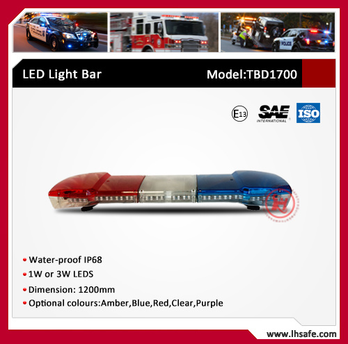 PC LED Emergency Warning Light Bar (TBD1700)