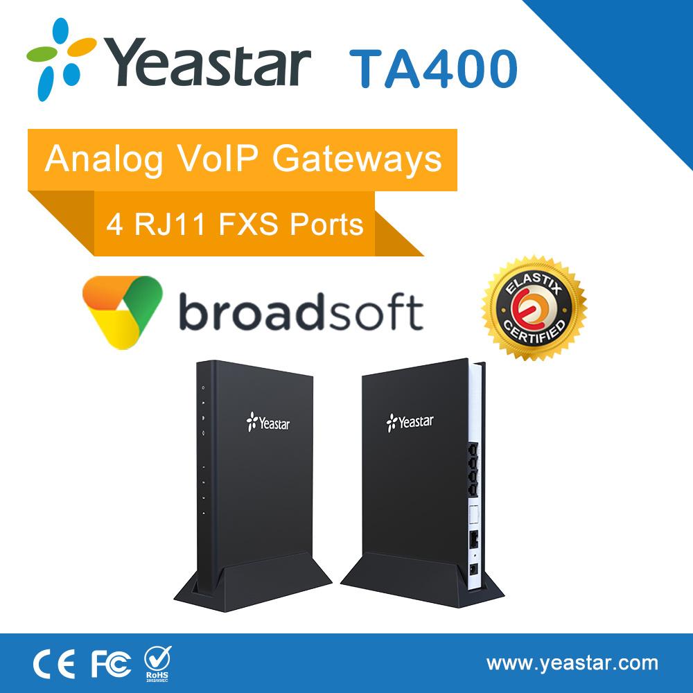 Yeastar 4 FXS Ports VoIP Analog Voice Gateway VoIP ATA