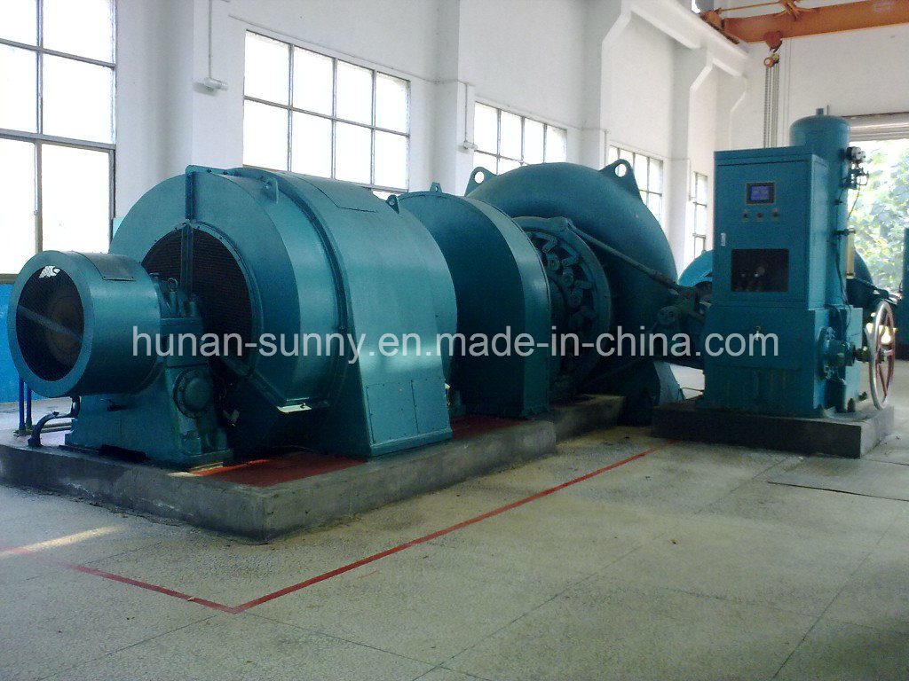 Mini Hydro (Water) Francis Turbine Generator/ Hydropower/ Hydroturbine
