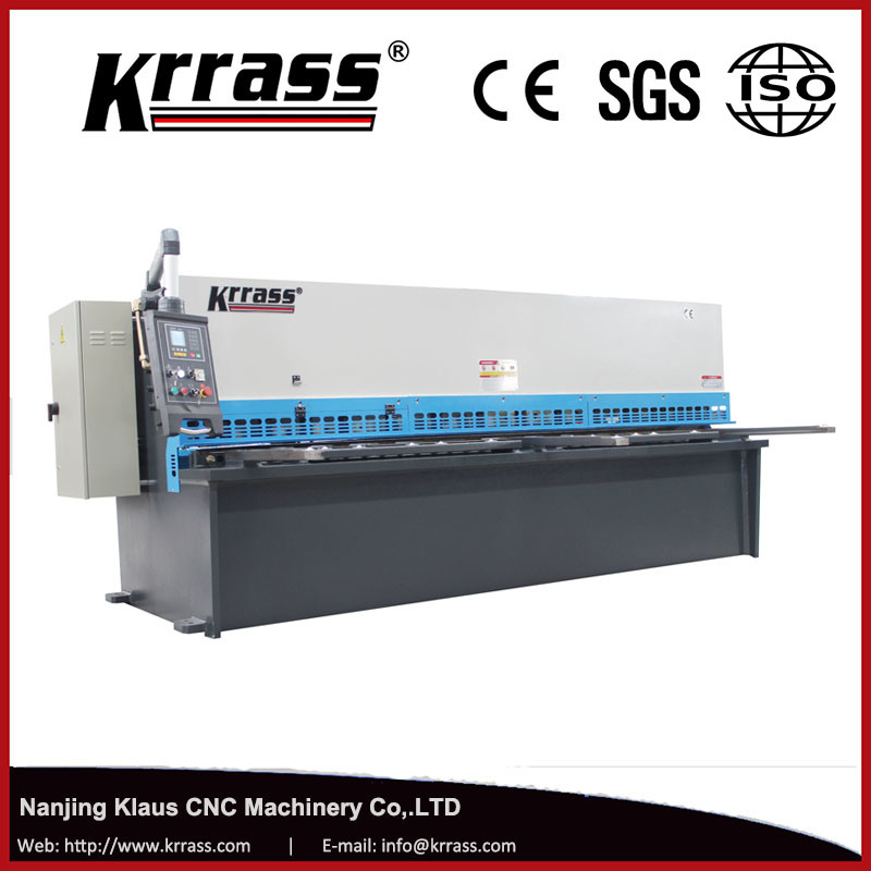 QC12k/QC12y CNC Hydraulic Swing Beam Guillotine Shearing Machine