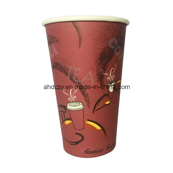 Factory Hot Sale 16oz Big Size Paper Cup for Hot Drink