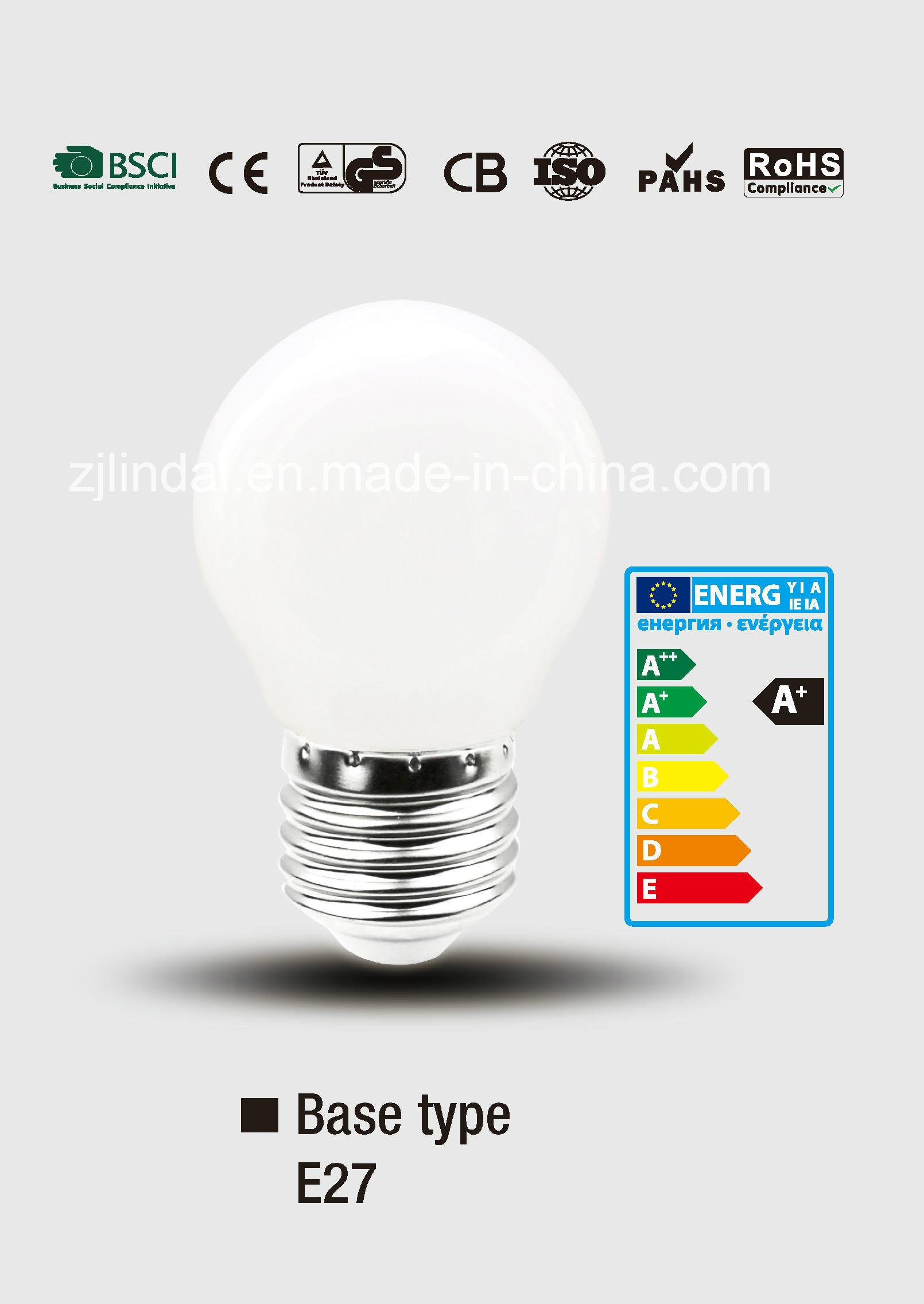 Full Glass LED Bulb PS45-Qb