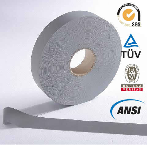Grey T/C Reflective Tape for Safety Apparel (1101)