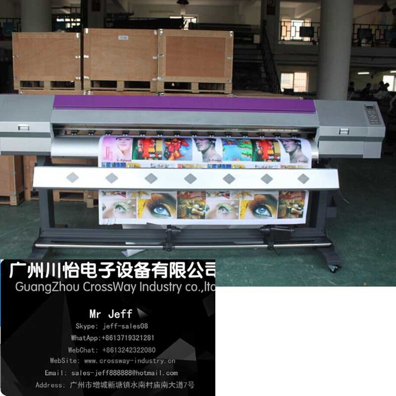 Sublimation Ink Printer for fabric Texile Flag 1.6m with Espon Head