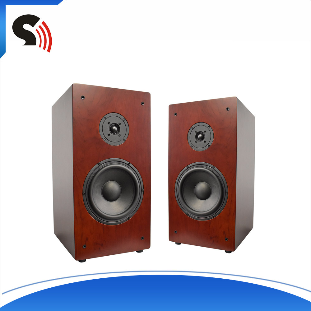 Discount 8 Inch 2-Way Professional Bookshelf Wood Sound Box